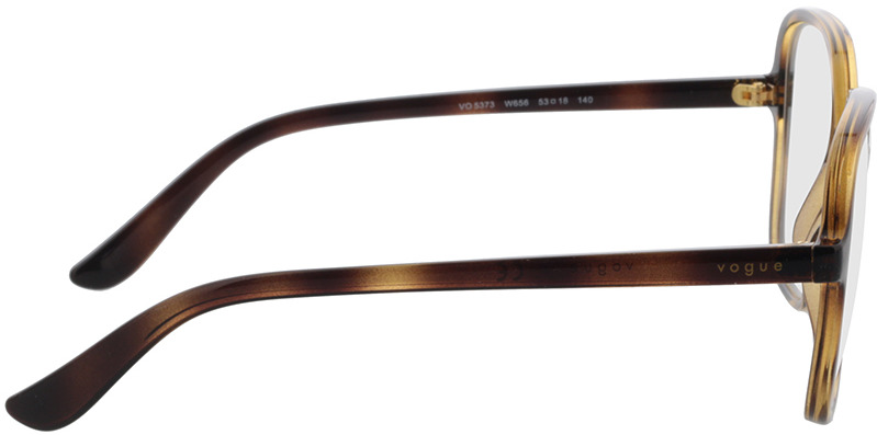 Picture of glasses model Vogue VO5373 W656 53-18 in angle 90
