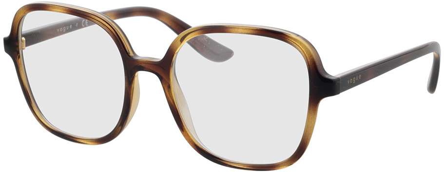 Picture of glasses model Vogue VO5373 W656 53-18 in angle 330