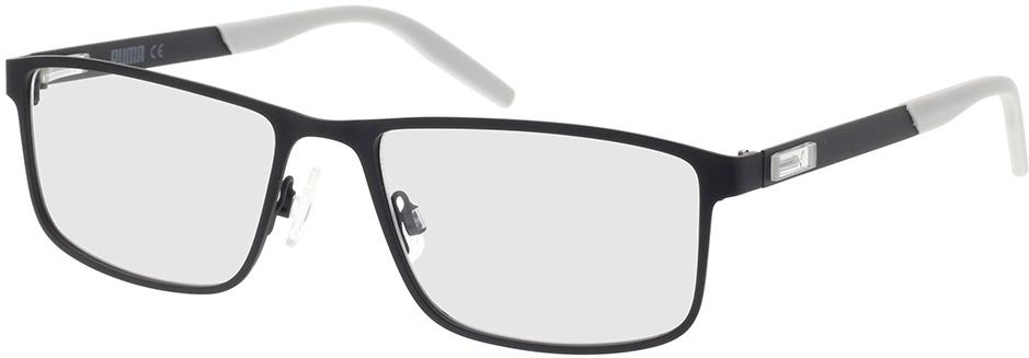 Picture of glasses model Puma PU0256O-001 57-18 in angle 330