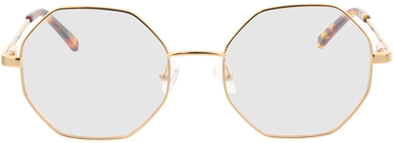 Picture of glasses model Monti-gold in angle 0