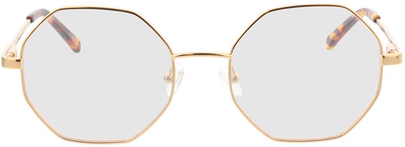 Picture of glasses model Monti-dourado in angle 0