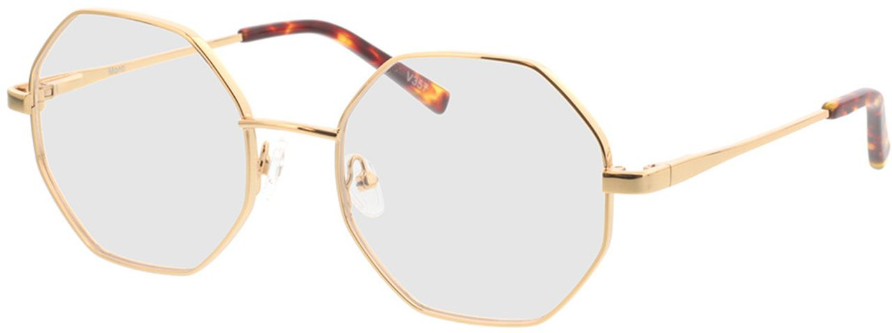 Picture of glasses model Monti-gold in angle 330