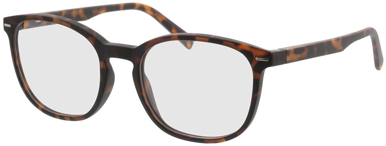 Picture of glasses model Olea-braun-meliert in angle 330