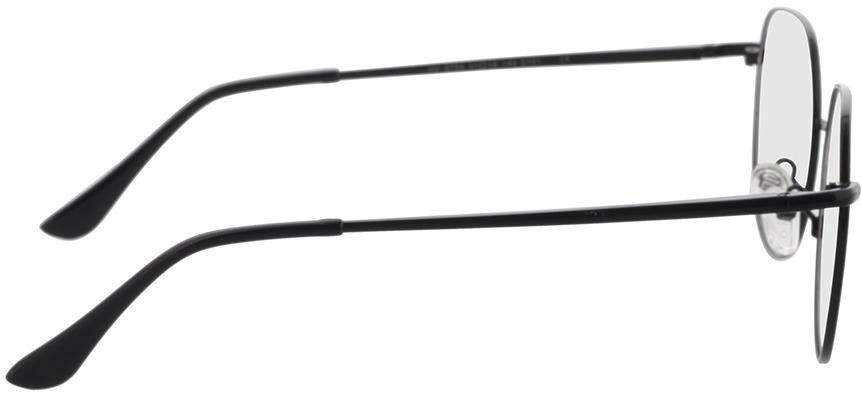 Picture of glasses model Kemi-schwarz in angle 90