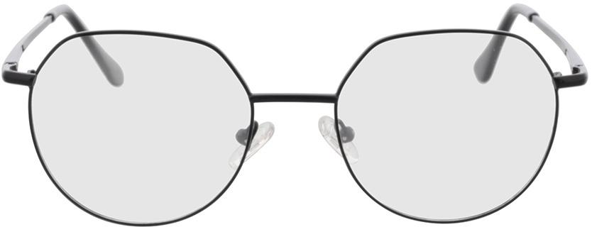 Picture of glasses model Kemi-schwarz in angle 0