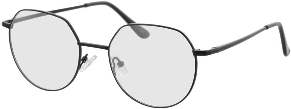 Picture of glasses model Kemi-schwarz in angle 330