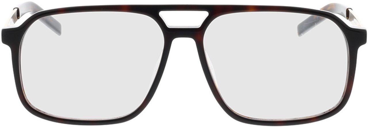Picture of glasses model Hugo HG 1092 086 57-14 in angle 0