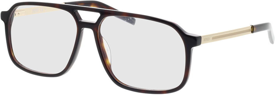 Picture of glasses model Hugo HG 1092 086 57-14 in angle 330