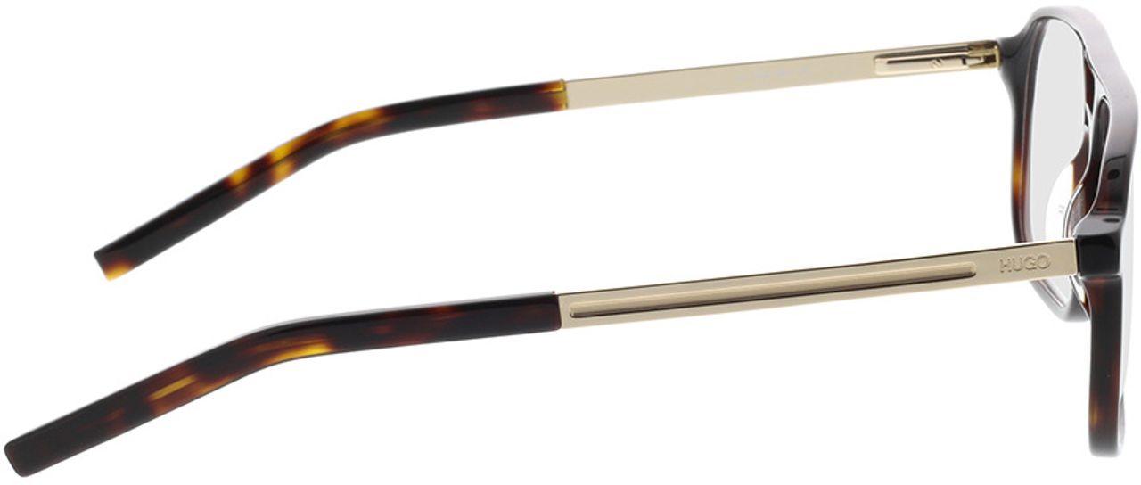 Picture of glasses model Hugo HG 1092 086 57-14 in angle 90