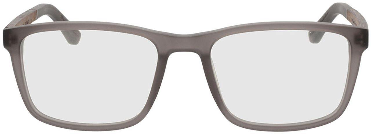 Picture of glasses model Wood Fellas Optical Eysome curled/grey 57-20 in angle 0
