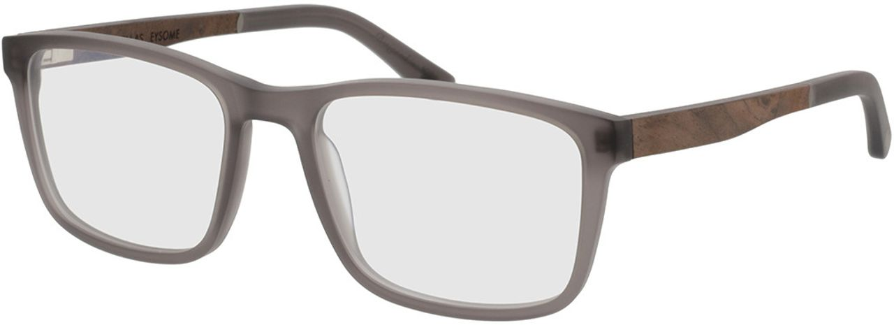 Picture of glasses model Wood Fellas Optical Eysome curled/grey 57-20 in angle 330