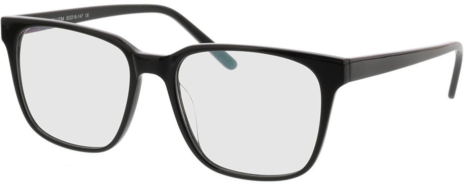 Picture of glasses model Woodstock zwart in angle 330
