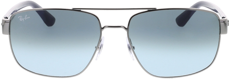 Picture of glasses model Ray-Ban RB3663 004/3M 60-17 in angle 0