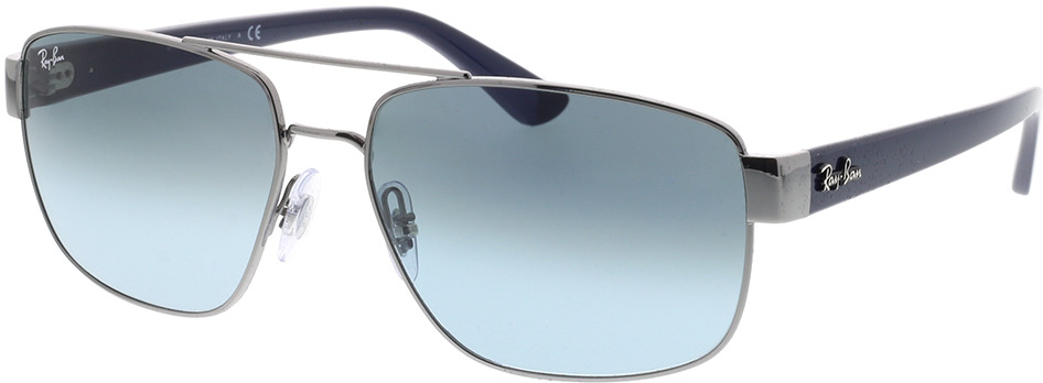 Picture of glasses model Ray-Ban RB3663 004/3M 60-17