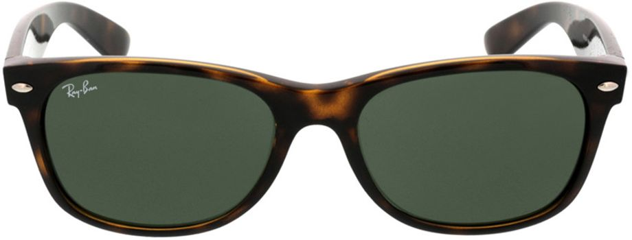 Picture of glasses model Ray-Ban New Wayfarer RB2132 902L 55-18 in angle 0
