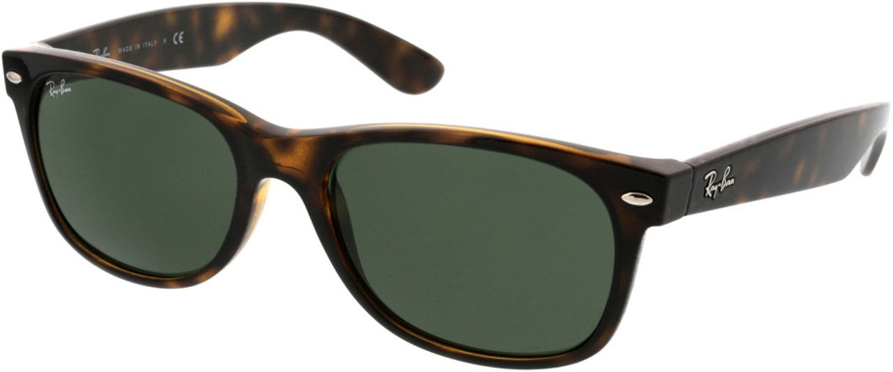 Picture of glasses model Ray-Ban New Wayfarer RB2132 902L 55-18 in angle 330