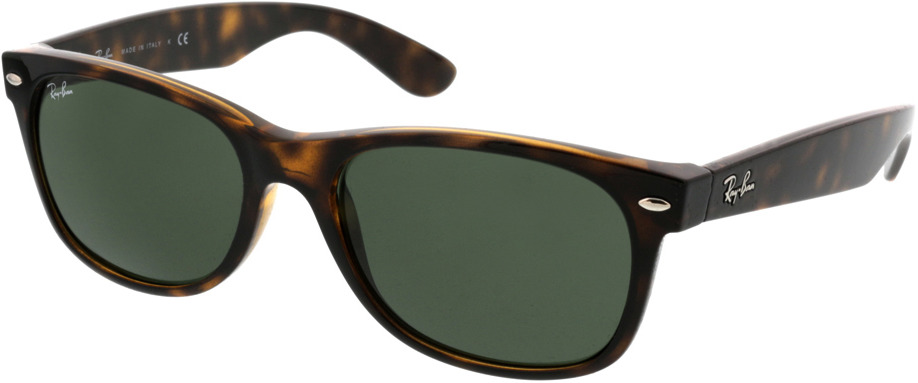 Picture of glasses model Ray-Ban New Wayfarer RB2132 902L 55-18