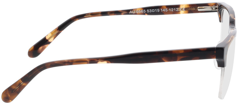 Picture of glasses model Waco-schwarz/braun-meliert in angle 90