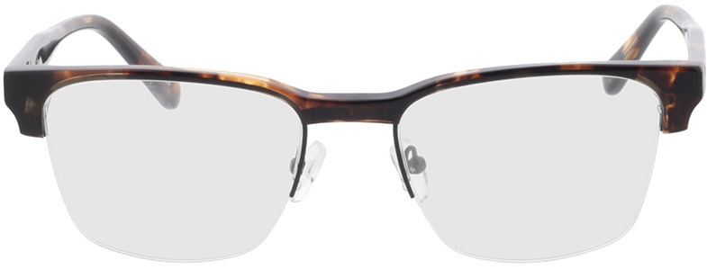 Picture of glasses model Waco-schwarz/braun-meliert in angle 0
