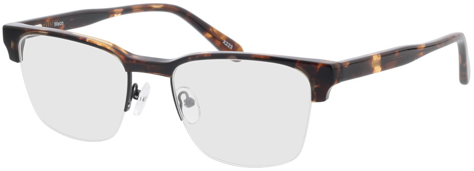 Picture of glasses model Waco-schwarz/braun-meliert in angle 330