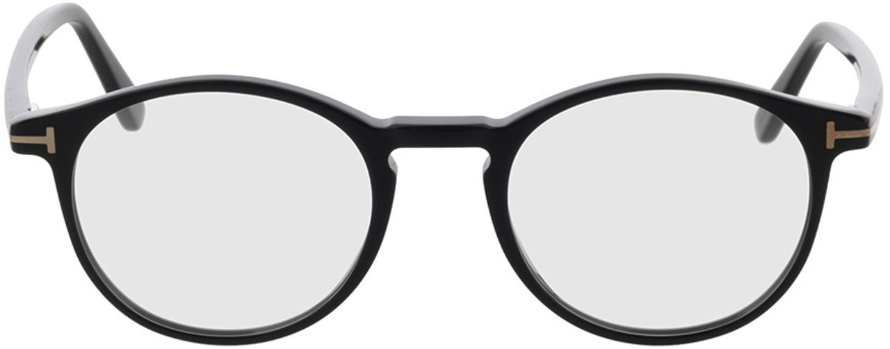 Picture of glasses model Tom Ford FT5294 001 in angle 0