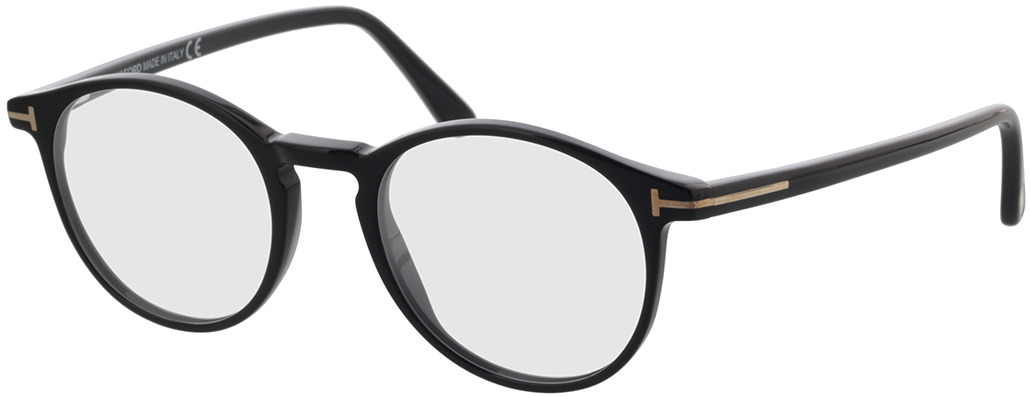 Picture of glasses model Tom Ford FT5294 001 in angle 330