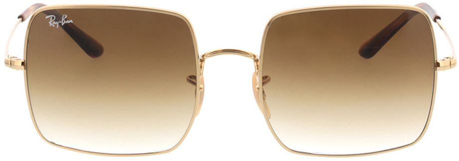 Picture of glasses model Ray-Ban Square RB1971 914751 54-19 in angle 0