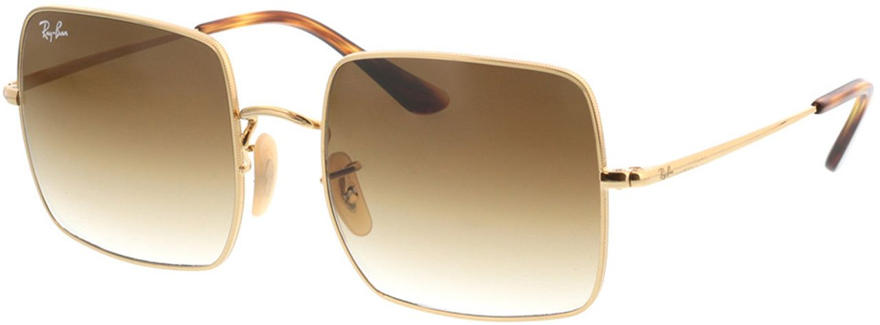 Picture of glasses model Ray-Ban Square RB1971 914751 54-19 in angle 330