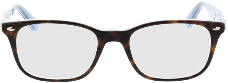 Picture of glasses model Ray-Ban RX5375 5883 51-18 in angle 0