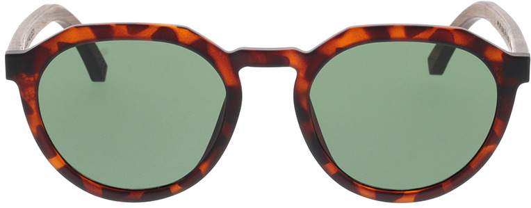Picture of glasses model TAKE A SHOT Leo: Havana/Walnussholz 49-20