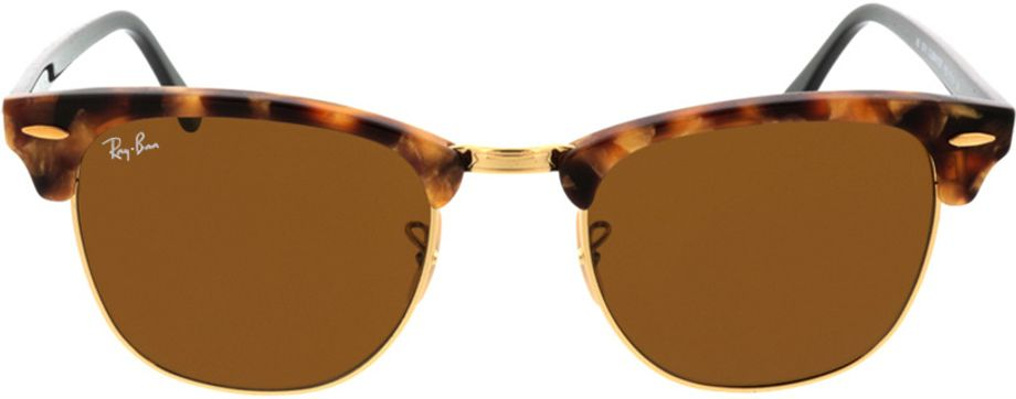 Picture of glasses model Ray-Ban Clubmaster RB3016 1160 51-21 in angle 0