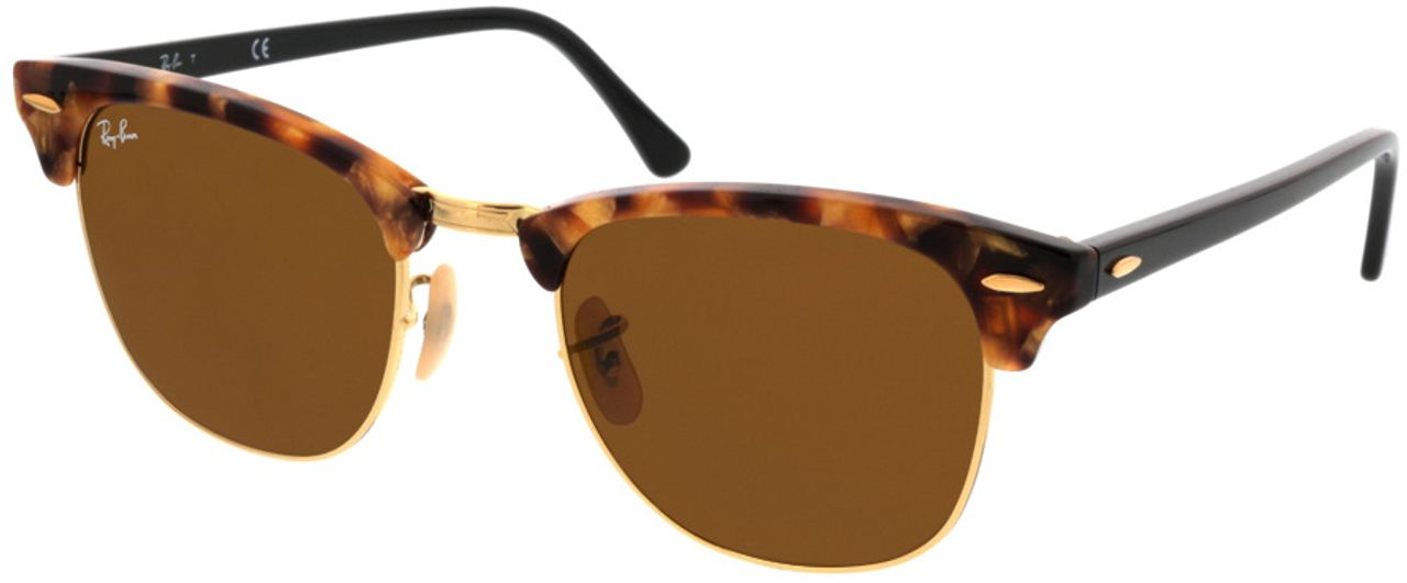 Picture of glasses model Ray-Ban Clubmaster RB3016 1160 51-21 in angle 330