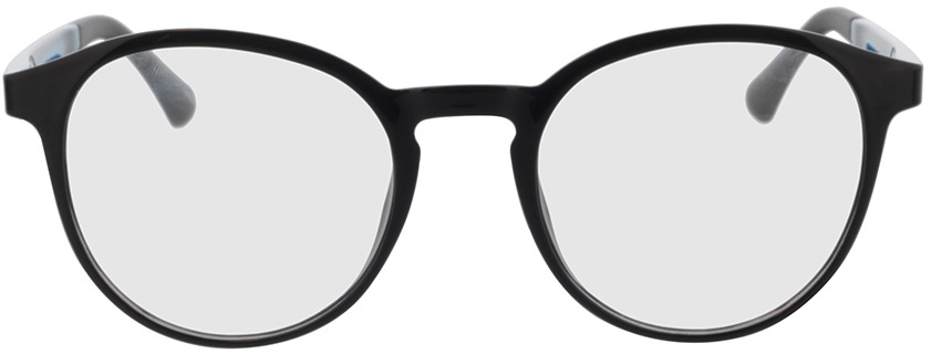 Picture of glasses model Toro-schwarz in angle 0