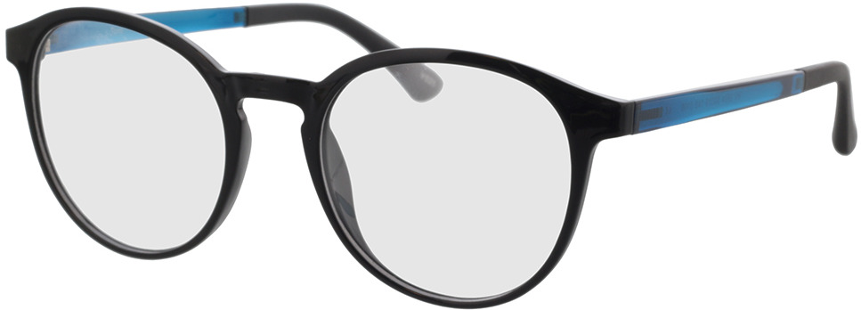Picture of glasses model Toro-schwarz in angle 330