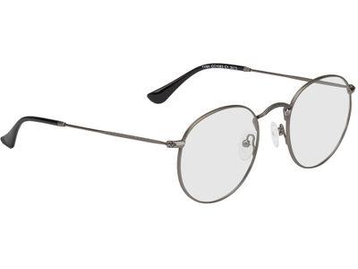 Brille Leipzig-matt silber