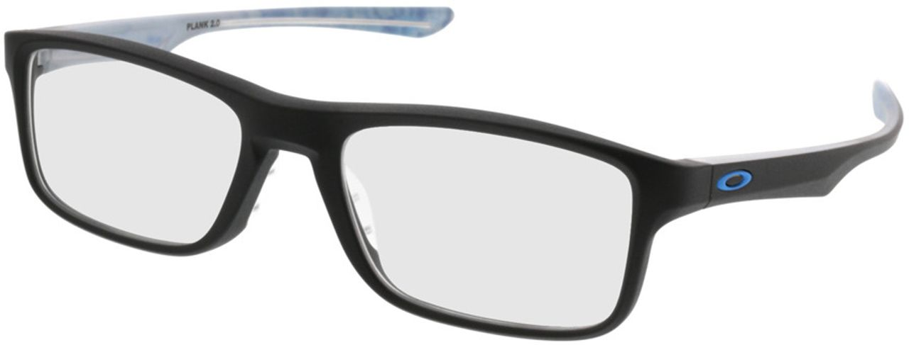 Picture of glasses model Oakley Plank 2.0 OX8081 01 53-18 in angle 330