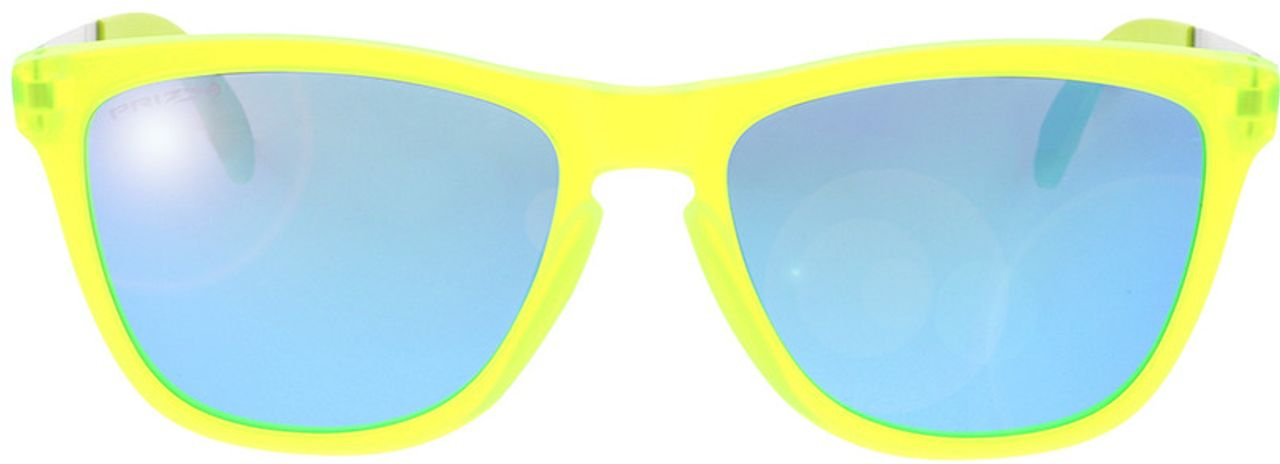 Picture of glasses model Oakley Frogskins Mix OO9428 942815 55-17 in angle 0