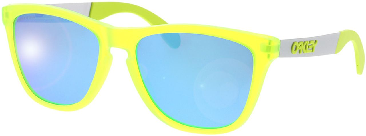 Picture of glasses model Oakley Frogskins Mix OO9428 942815 55-17 in angle 330
