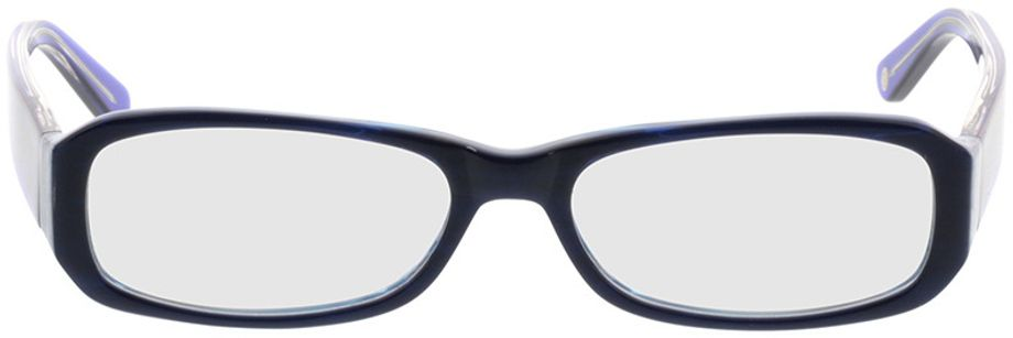 Picture of glasses model Bagheria-blue in angle 0