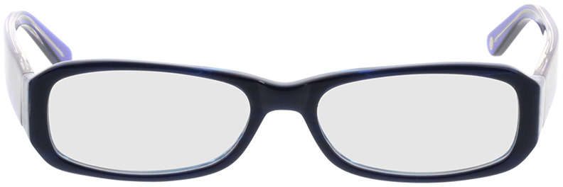 Picture of glasses model Bagheria dark-blue in angle 0