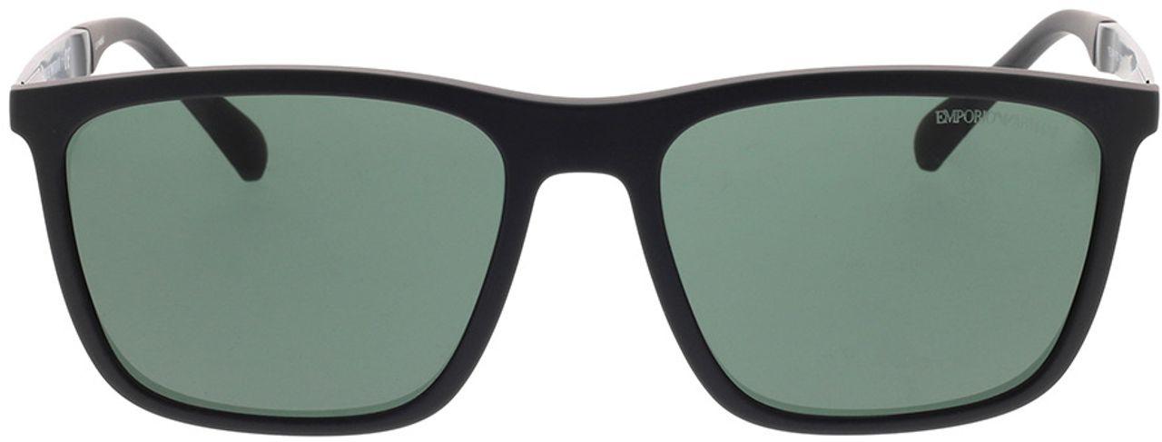 Picture of glasses model Emporio Armani EA4150 506371 59-18 in angle 0