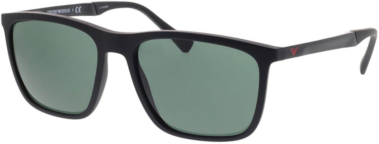 Picture of glasses model Emporio Armani EA4150 506371 59-18 in angle 330