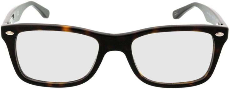 Picture of glasses model Ray-Ban RX5228 2012 50-17 in angle 0