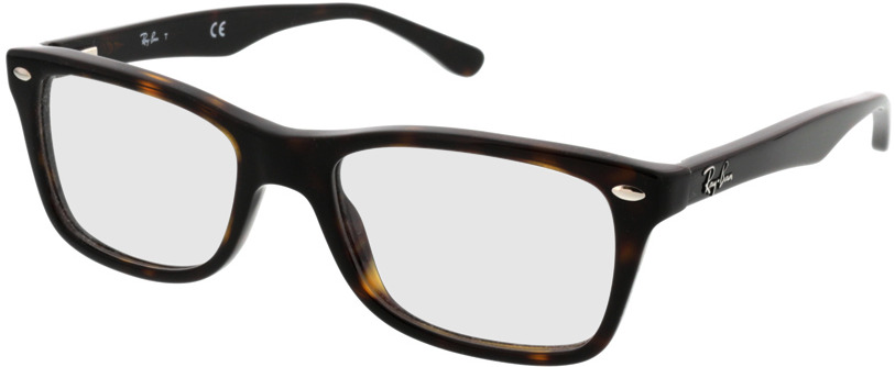 Picture of glasses model Ray-Ban RX5228 2012 50-17 in angle 330