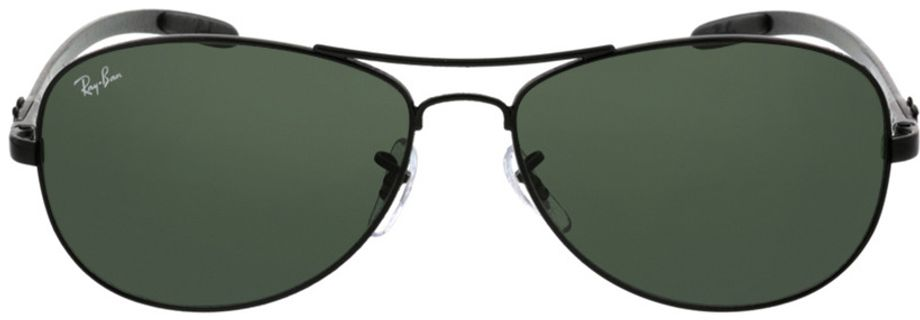 Picture of glasses model Ray-Ban RB8301 002 59-14 in angle 0