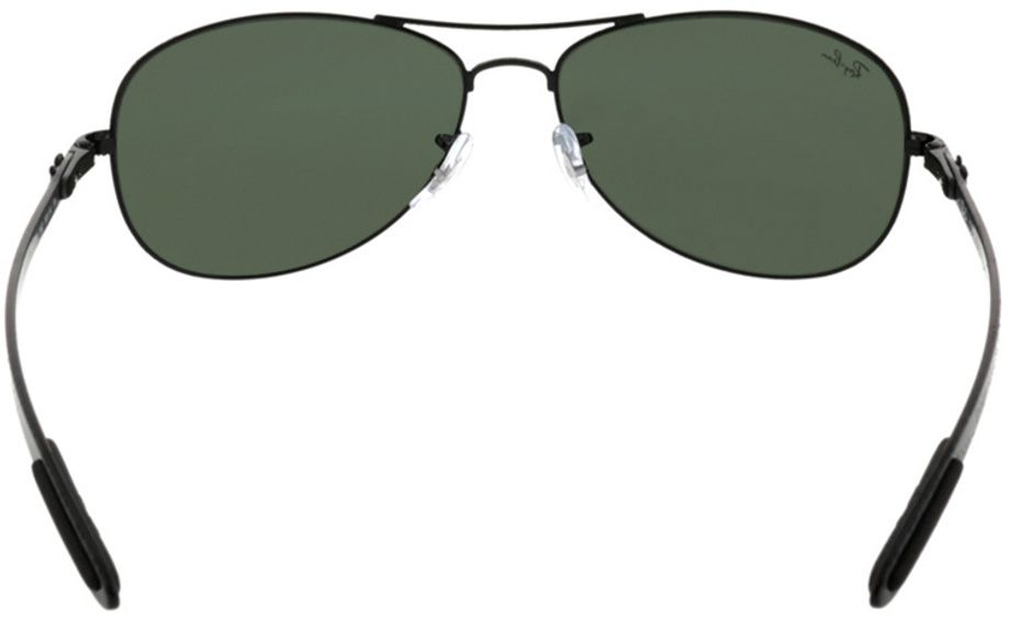 Picture of glasses model Ray-Ban RB8301 002 59-14 in angle 180