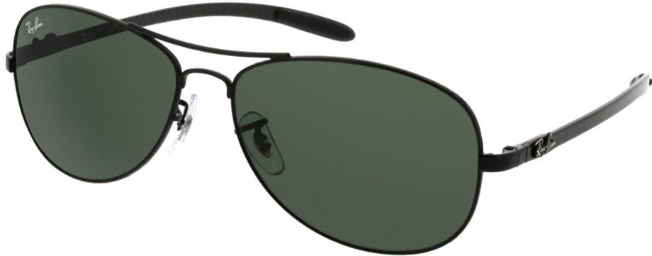 Picture of glasses model Ray-Ban RB8301 002 59-14 in angle 330