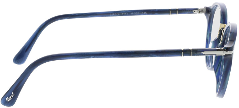Picture of glasses model Persol PO3185V 1111 48-21 in angle 90