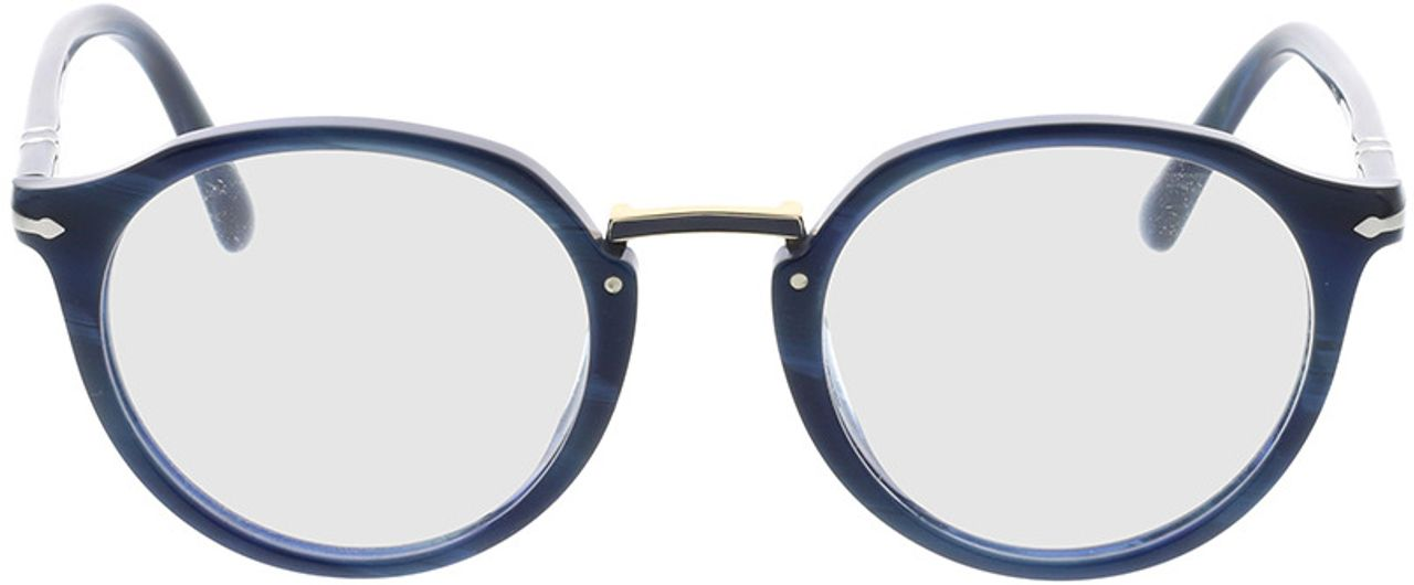 Picture of glasses model Persol PO3185V 1111 48-21 in angle 0