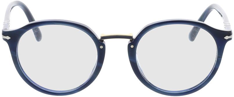 Picture of glasses model Persol PO3185V 1111 48-21 in angle 0